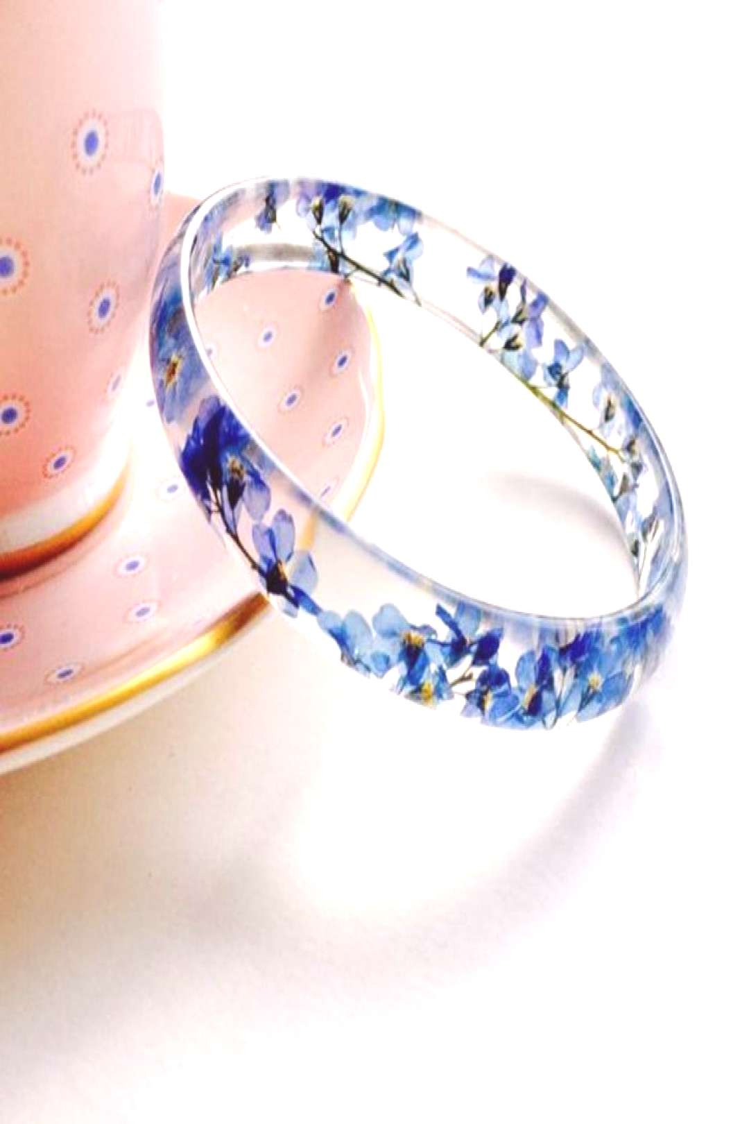 ▷ 10 great ideas for an unforgettable farewell party - gift for woman, bracelet, forget-me-not,