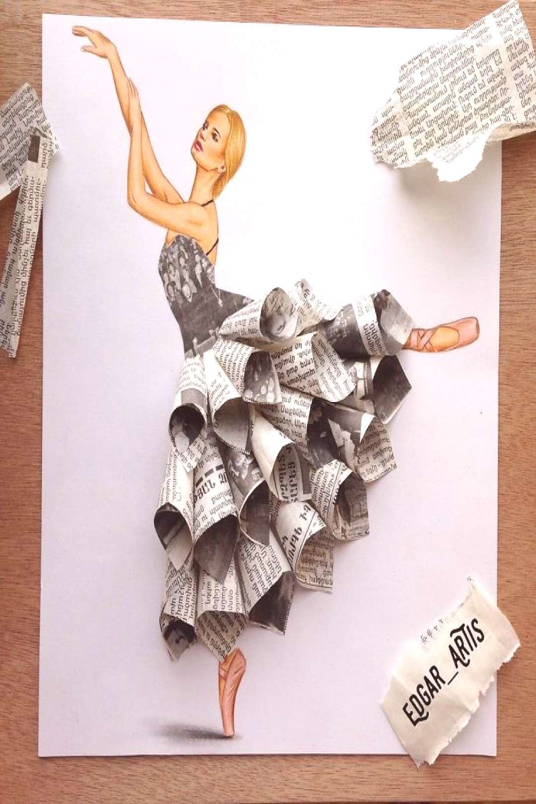 14 Incredible Sketches Showing Gorgeous Dresses Made From ... 14 Incredible Sketches Showing Gorgeo
