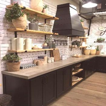 Beautiful farmhouse style kitchen at Magnolia Market. 5  Things to Know before y... -