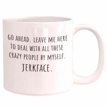 Do you have a jerkface coworker who is leaving? Gift him or her this funny farewell gift! • CAPTI