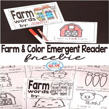 Farm and Color Emergent Reader Farm and Color Emergent Reader is perfect way to teach students abou