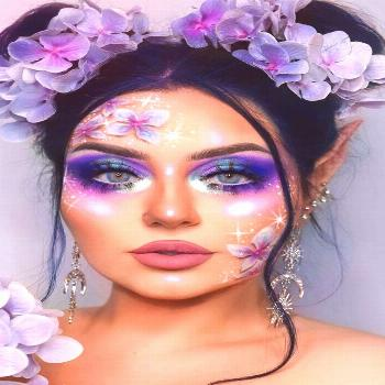Lilac Fairy Makeup Idea ★ For beautiful and unique fantasy makeup ideas, browse our gallery. We s
