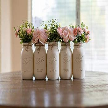 Set of 3, 4 or 5 - Your Choice Pint or Quart Size - Rustic