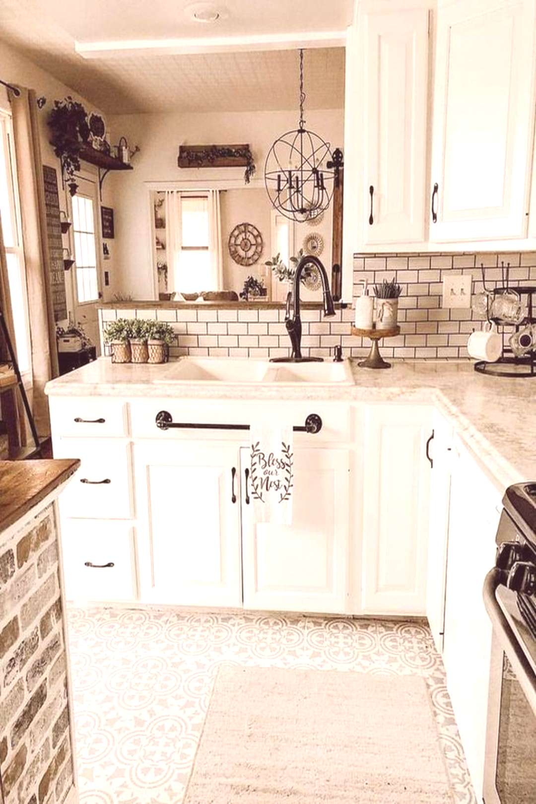 39 Great Ideas For Modern Farmhouse Kitchen Decorations