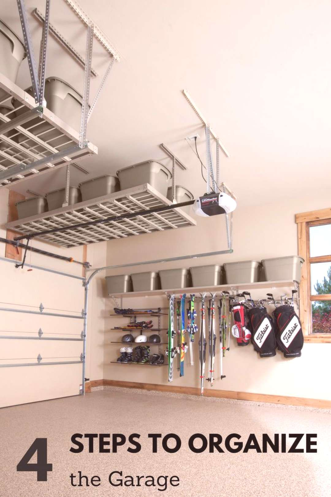 4 Steps for Organizing the Garage - An organized garage doesnt have to be so far away. Follow the