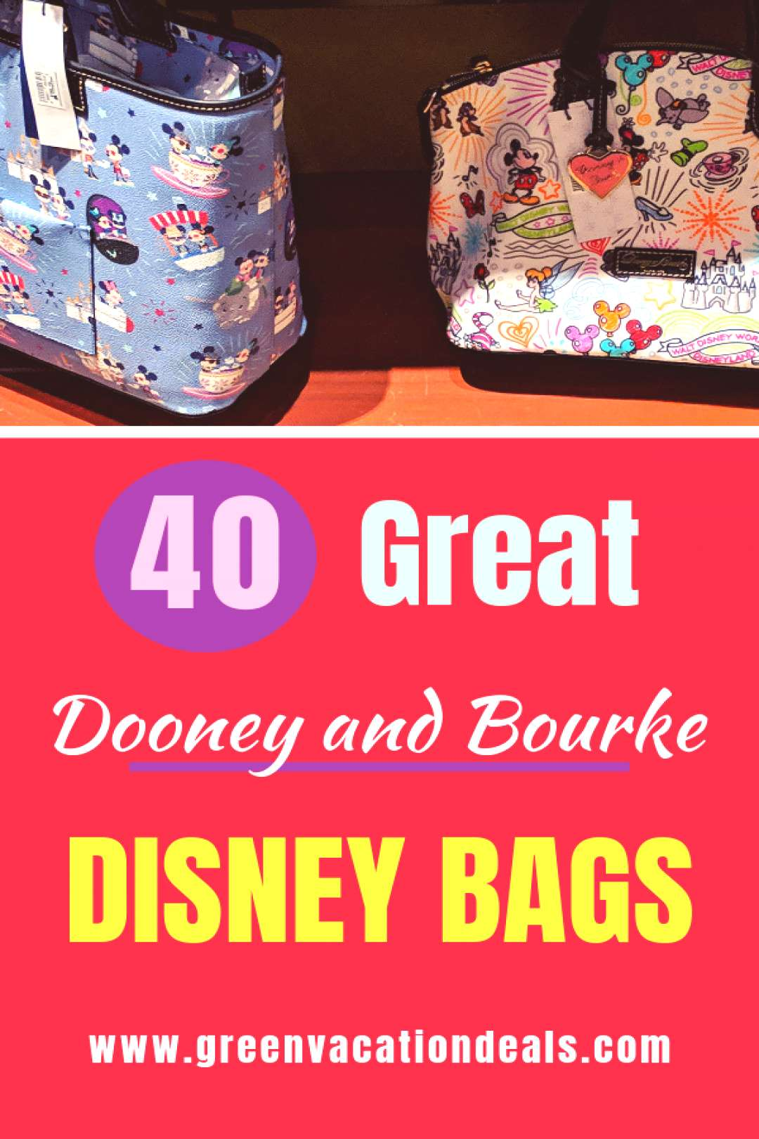 40 Great Dooney and Bourke Disney Bags All Disney fans need to read out list of the best Disney the