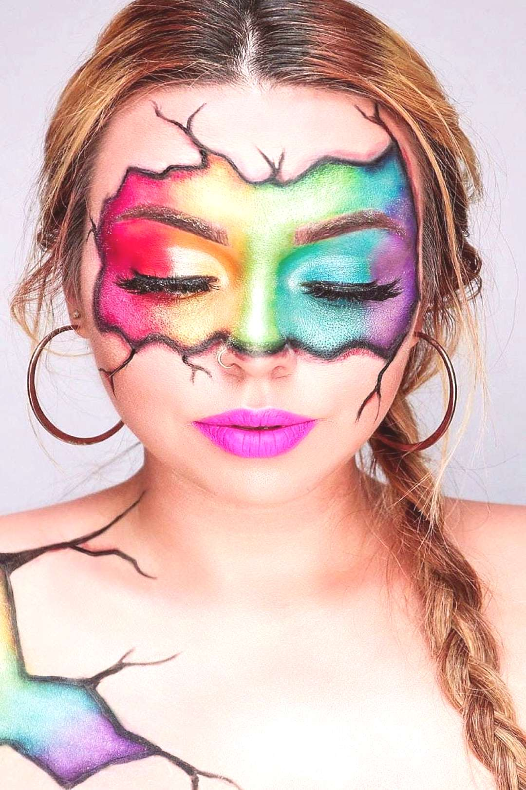 52 Young Girls New Favorite Colorful Makeup ideas. Page 5 If you want to have an idea about colorfu