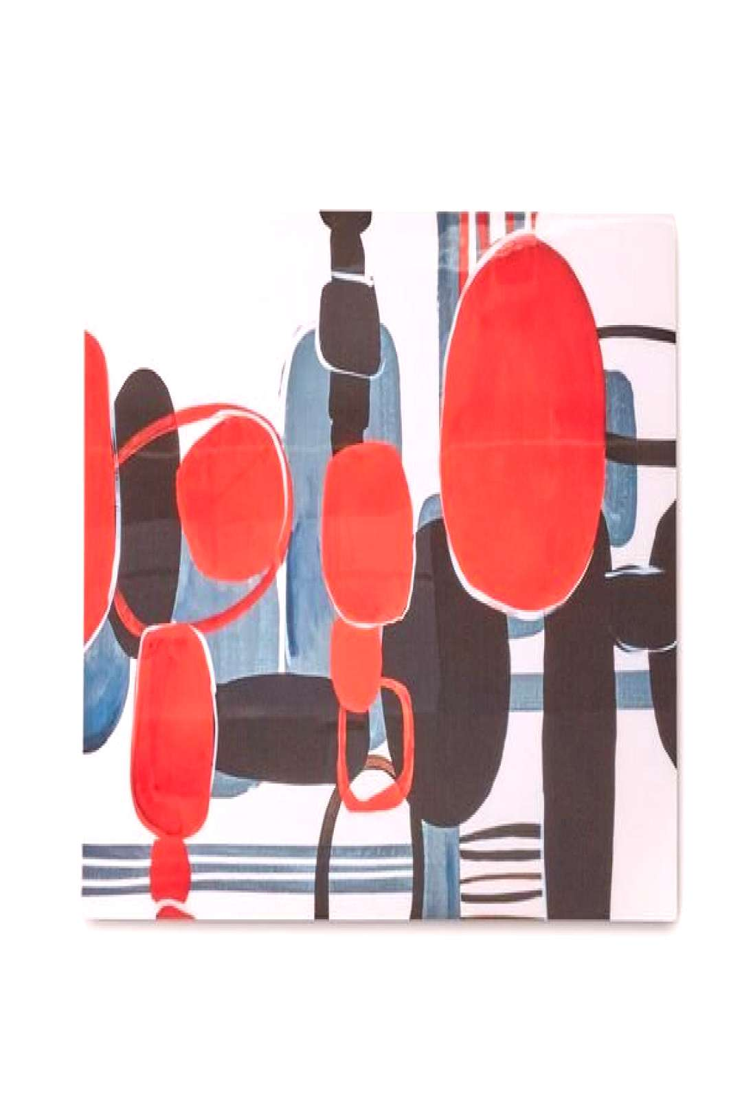 Add the Far Away Places wall art to your room of choice for a curated contemporary look. Its high g