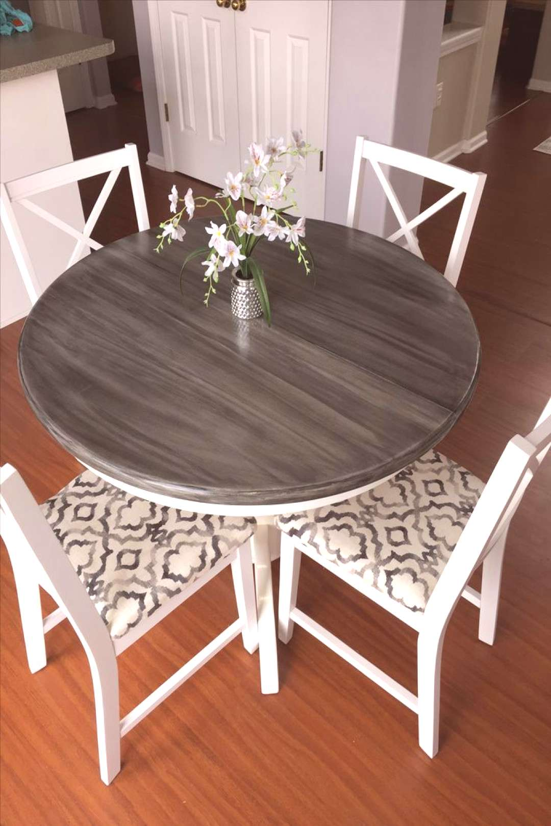Amazing table my Mom and I refurnished