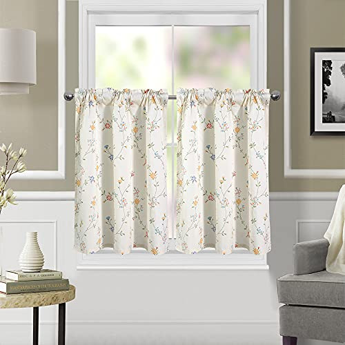 ANNLAITE Textured Drapes for Living Room Rustic Style