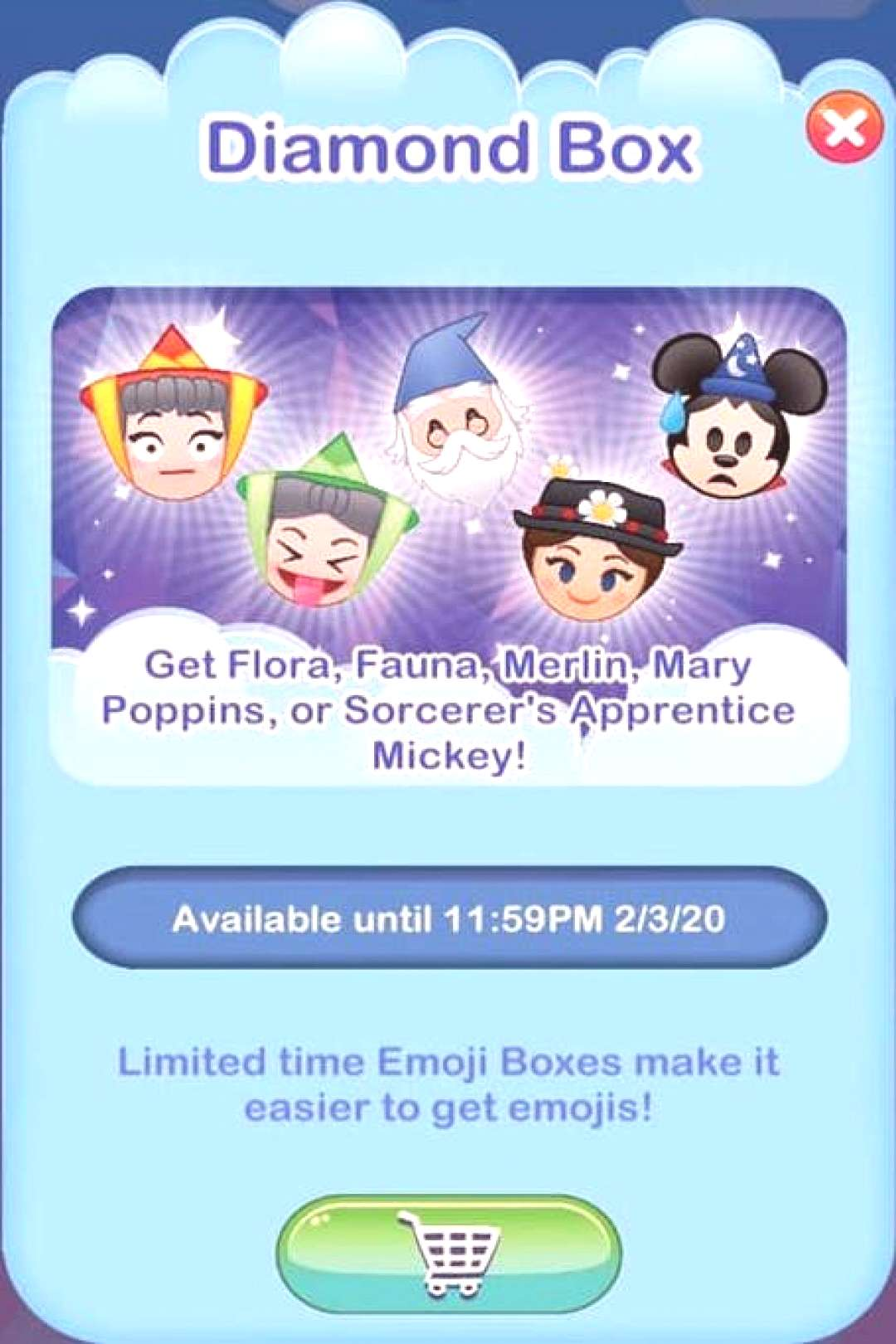 Diamond Box [feat. Flora, Fauna, Merlin, Mary Poppins amp Mickey Mouse (as the Apprentice) - all as e
