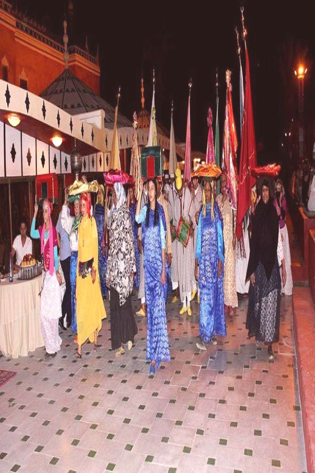Dinner and Fantasia show in Marrakech ,