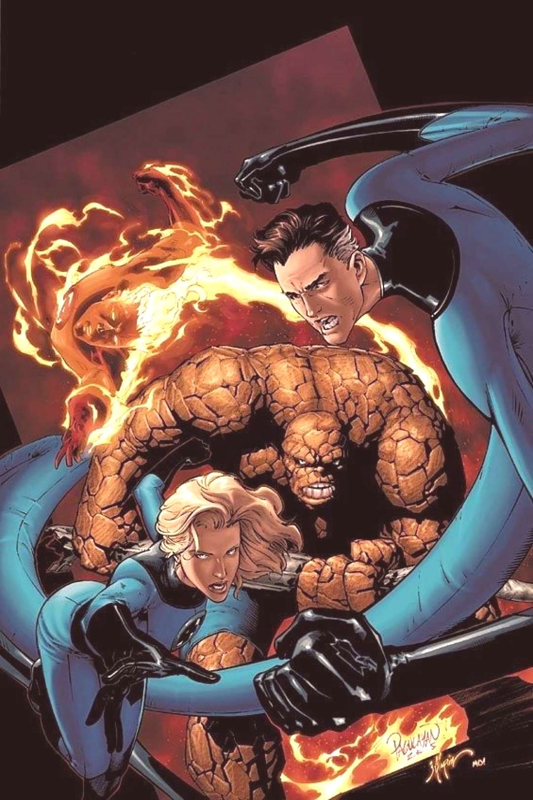 Fantastic Four by Carlo Pagulayan