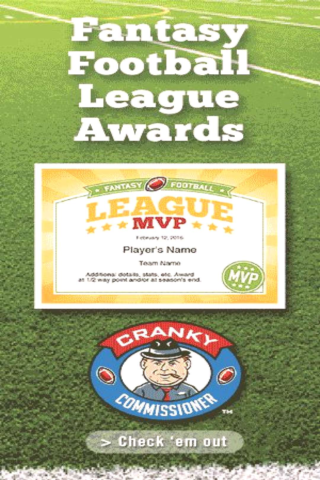 Fantasy Football Winner Certificate Inspirational Fantasy Football 7 Resources You Must Have
