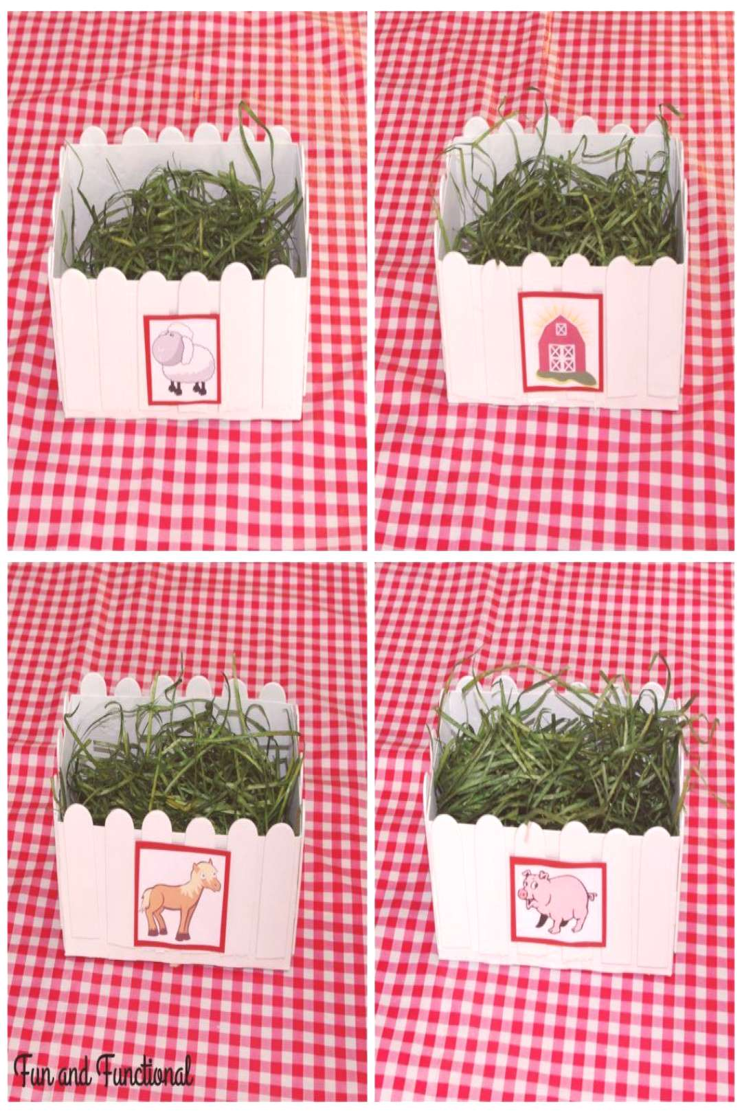 FARM BIRTHDAY PARTY POPSICLE STICK PICKET FENCE DECORATIONS - Fun And Functional Blog