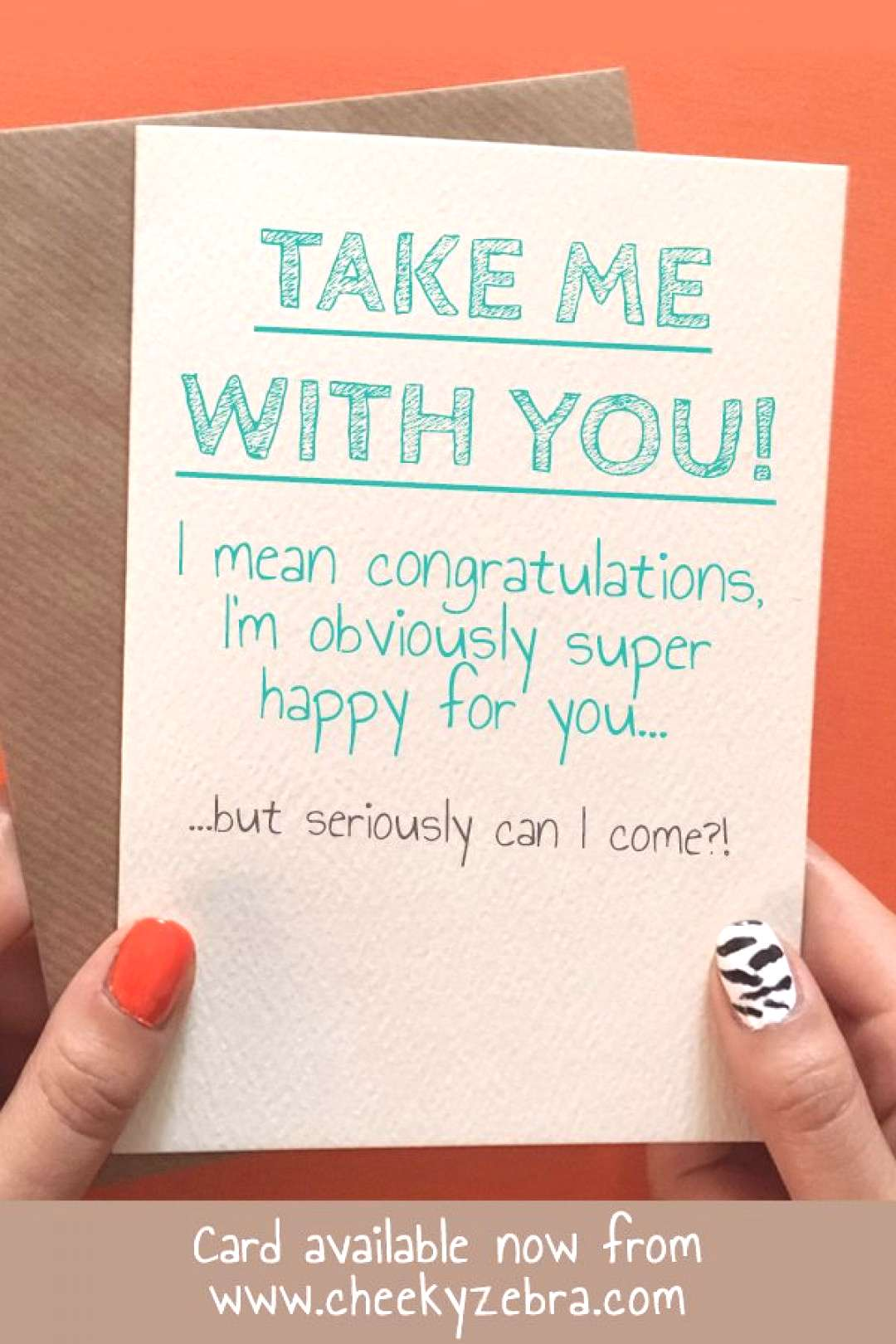 Funny Leaving Card Funny leaving and good luck card for a co worker moving on to better things. Th
