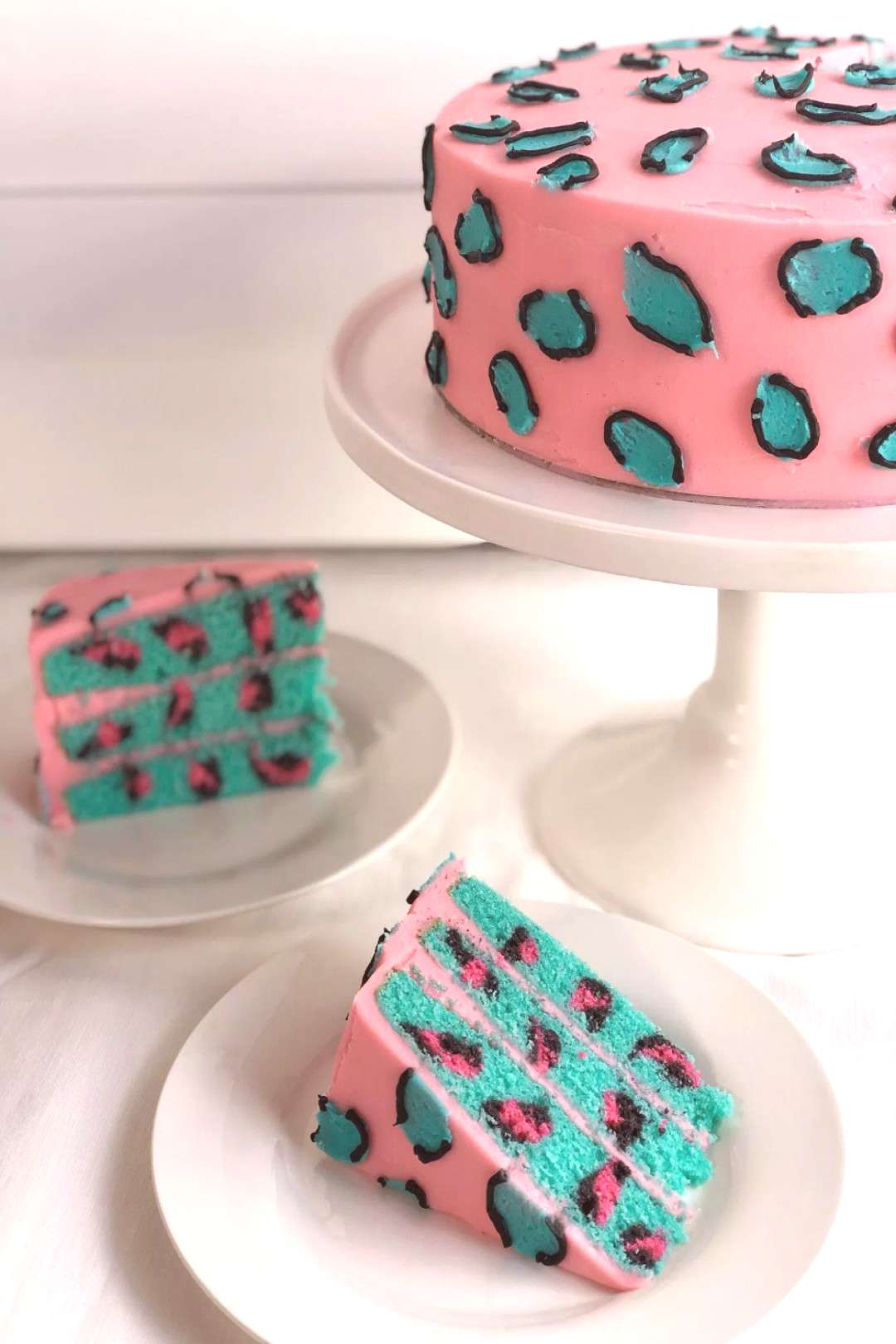 Leopard print cake with a surprise inside! - CAKE STYLE