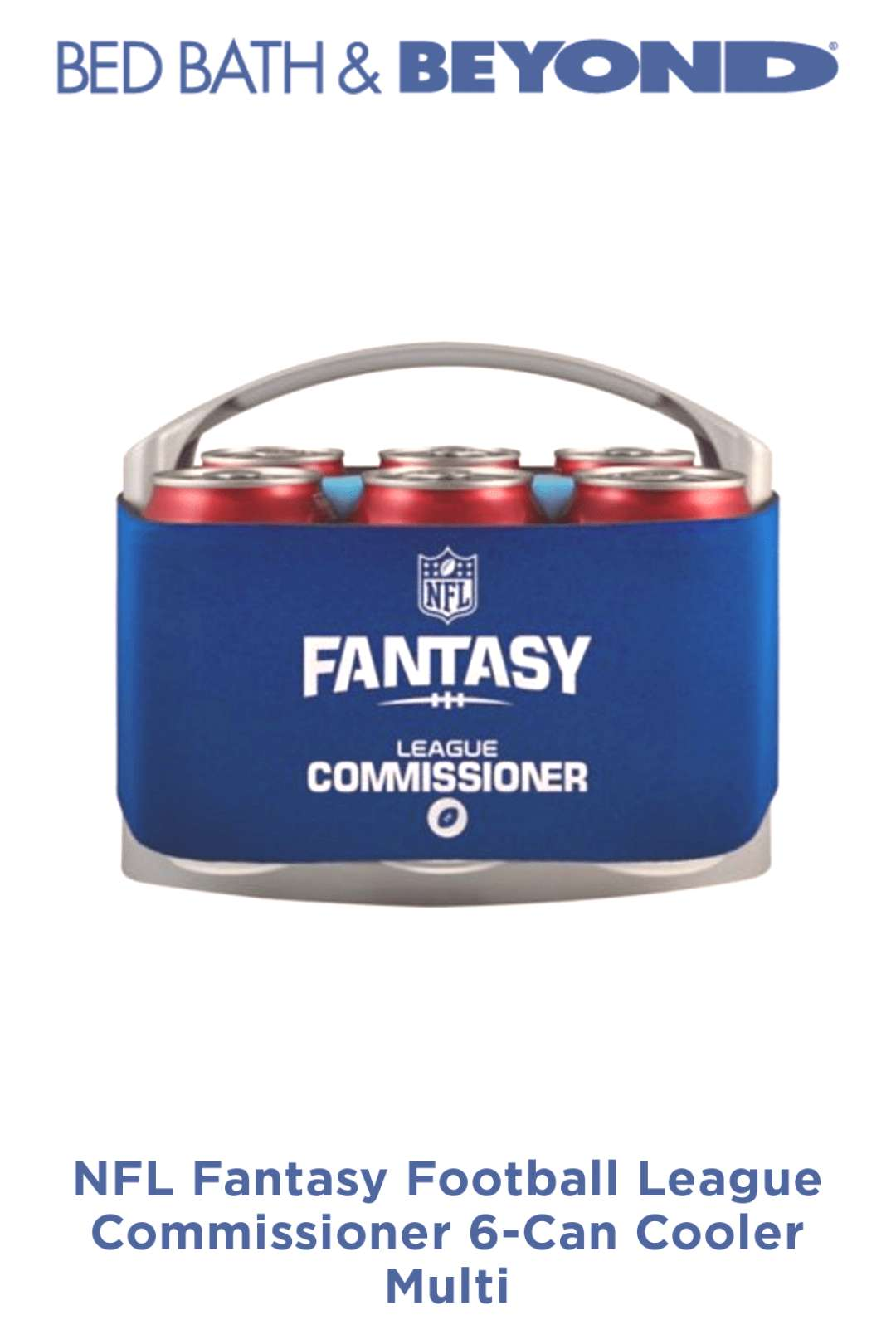 NFL Fantasy Football League Commissioner 6-Can Cooler Multi