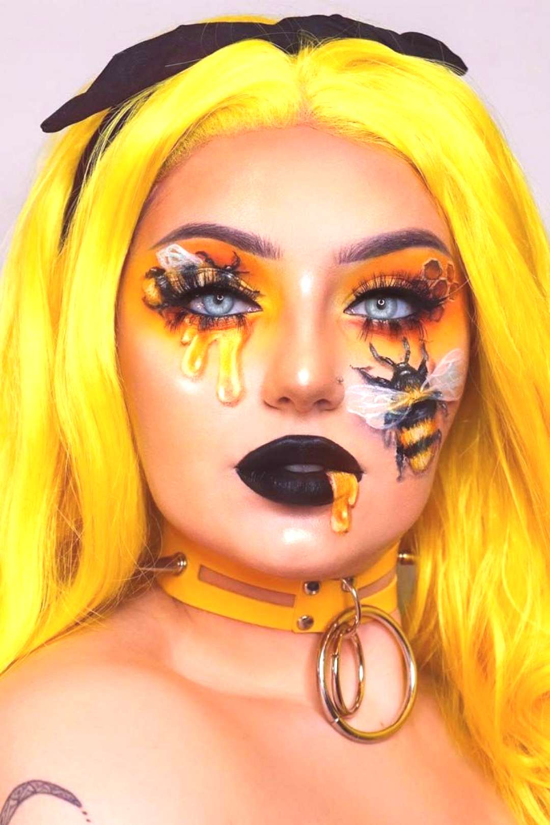 Queen Bee Fantasy Makeup ★ For beautiful and unique fantasy makeup ideas, browse our gallery. We
