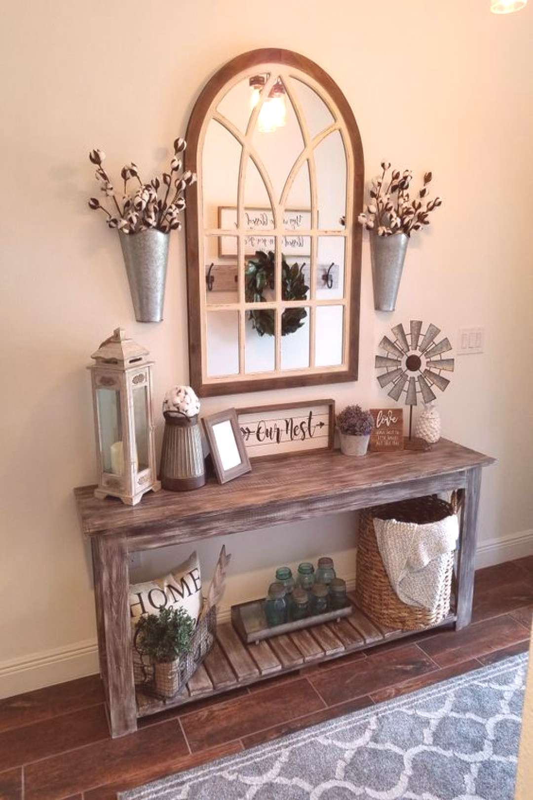 The Farmhouse Decor Looking to transform your home into a rustic retreat? Take a look at our 50+ f