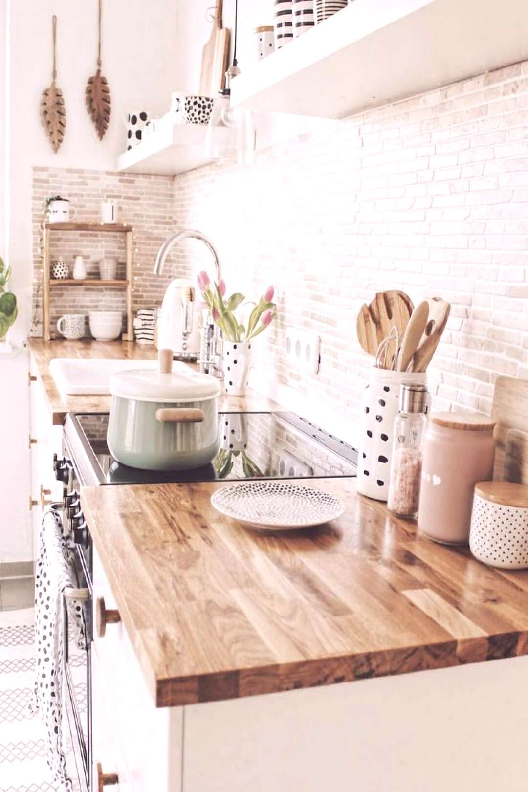 the future modern farm house style kitchen Id love to have! // repost Beth